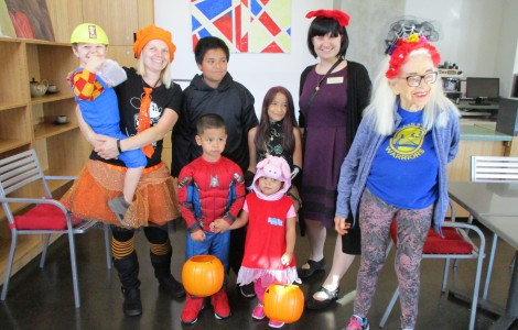 Halloween Parade and Cookie Decorating