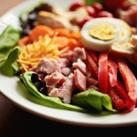 Sara Foster's All-American Chef Salad is a burst of color and the perfect salad to add leftover Easter ham.