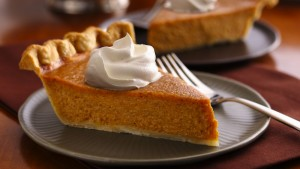 pumpkin pie & whip