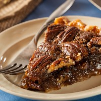 Homemade Delicious Pecan Pie for the Holidays