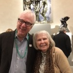 Two of our residents striking a pose after viewing Rodin's sculpture highlighted in the Legion of Honor rotunda.