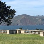 The view from the front grounds of the Legion of Honor Museum in San Francisco, on a spectacularly beautiful day.
