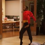 It was so exciting to have professional ballet dancers in our lobby!